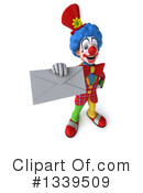 Colorful Clown Clipart #1339509 by Julos