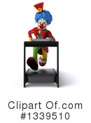 Colorful Clown Clipart #1339510 by Julos