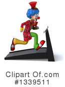Colorful Clown Clipart #1339511 by Julos