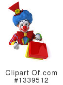 Colorful Clown Clipart #1339512 by Julos