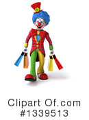 Colorful Clown Clipart #1339513 by Julos