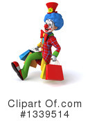 Colorful Clown Clipart #1339514 by Julos