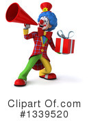 Colorful Clown Clipart #1339520 by Julos