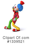 Colorful Clown Clipart #1339521 by Julos
