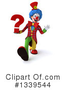 Colorful Clown Clipart #1339544 by Julos