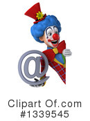 Colorful Clown Clipart #1339545 by Julos