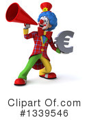 Colorful Clown Clipart #1339546 by Julos