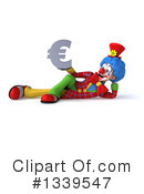 Colorful Clown Clipart #1339547 by Julos