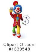 Colorful Clown Clipart #1339548 by Julos