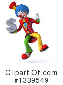 Colorful Clown Clipart #1339549 by Julos