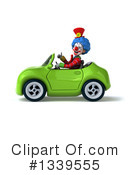 Colorful Clown Clipart #1339555 by Julos
