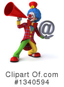 Colorful Clown Clipart #1340594 by Julos