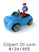 Colorful Clown Clipart #1341955 by Julos