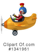 Colorful Clown Clipart #1341961 by Julos