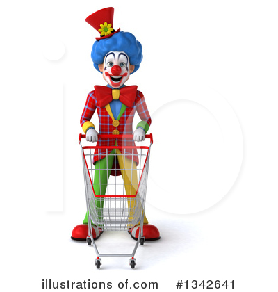Colorful Clown Clipart #1342641 by Julos
