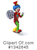 Colorful Clown Clipart #1342645 by Julos