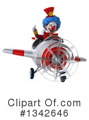 Colorful Clown Clipart #1342646 by Julos