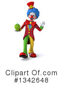 Colorful Clown Clipart #1342648 by Julos