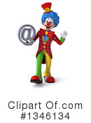 Colorful Clown Clipart #1346134 by Julos