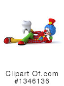 Colorful Clown Clipart #1346136 by Julos