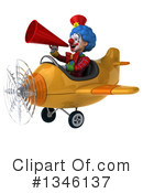 Colorful Clown Clipart #1346137 by Julos