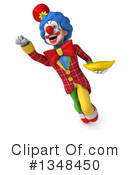 Colorful Clown Clipart #1348450 by Julos