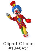 Colorful Clown Clipart #1348451 by Julos