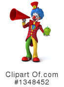 Colorful Clown Clipart #1348452 by Julos