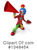 Colorful Clown Clipart #1348454 by Julos