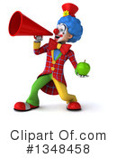Colorful Clown Clipart #1348458 by Julos