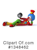 Colorful Clown Clipart #1348462 by Julos
