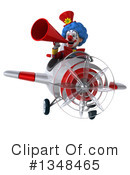 Colorful Clown Clipart #1348465 by Julos