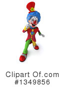 Colorful Clown Clipart #1349856 by Julos
