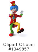 Colorful Clown Clipart #1349857 by Julos