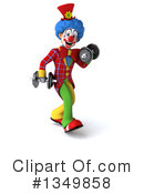 Colorful Clown Clipart #1349858 by Julos