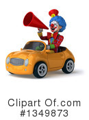 Colorful Clown Clipart #1349873 by Julos