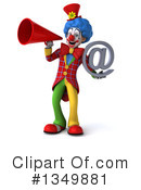 Colorful Clown Clipart #1349881 by Julos