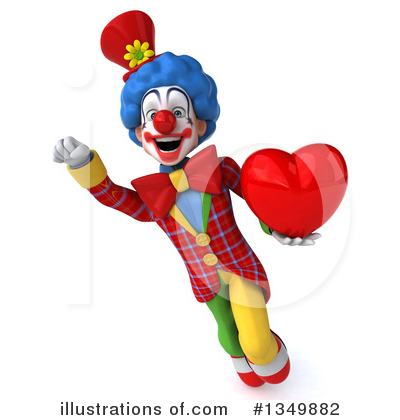 Colorful Clown Clipart #1349882 by Julos