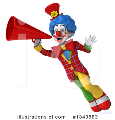Colorful Clown Clipart #1349883 by Julos