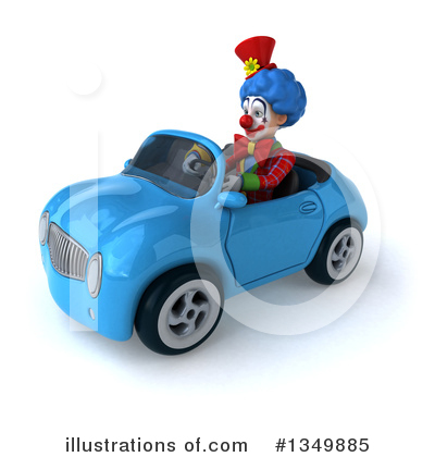 Colorful Clown Clipart #1349885 by Julos