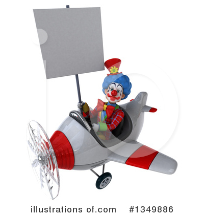 Colorful Clown Clipart #1349886 by Julos