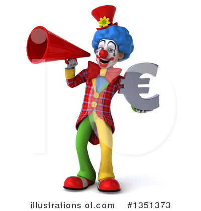 Colorful Clown Clipart #1351373 by Julos