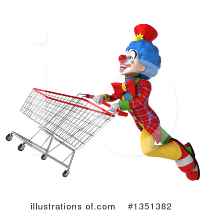 Colorful Clown Clipart #1351382 by Julos