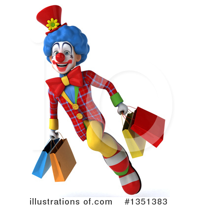 Colorful Clown Clipart #1351383 by Julos