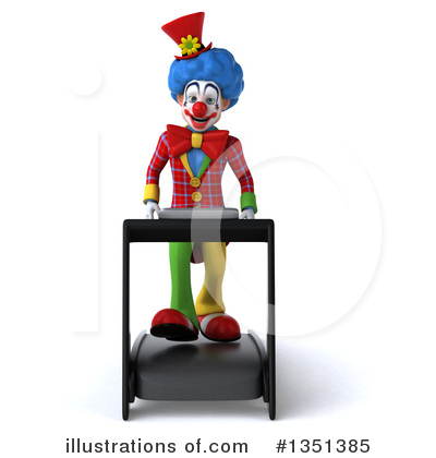 Colorful Clown Clipart #1351385 by Julos