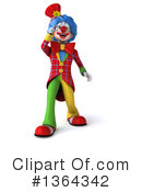 Colorful Clown Clipart #1364342 by Julos
