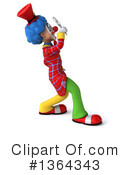 Colorful Clown Clipart #1364343 by Julos