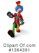 Colorful Clown Clipart #1364391 by Julos