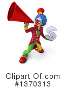 Colorful Clown Clipart #1370313 by Julos