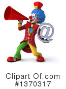 Colorful Clown Clipart #1370317 by Julos